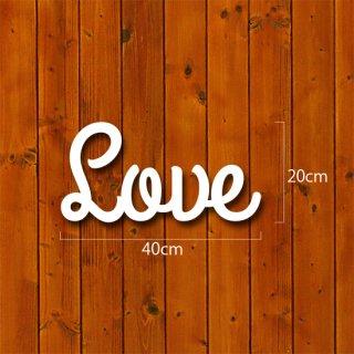 イニシャルオブジェ【Love】30mm厚