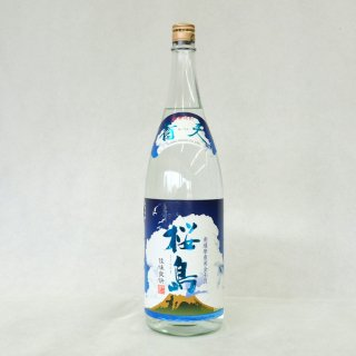 青天桜島 25度 芋焼酎 1800ml