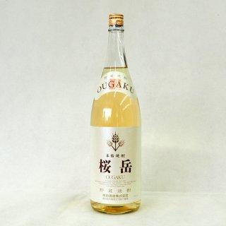 貯蔵焼酎桜岳 25度 麦焼酎 1800ml