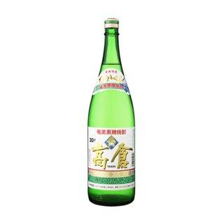高倉 30度 黒糖焼酎 1800ml