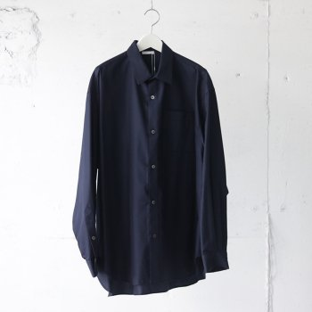 <img class='new_mark_img1' src='https://img.shop-pro.jp/img/new/icons20.gif' style='border:none;display:inline;margin:0px;padding:0px;width:auto;' />[50%OFF]Blanc YM/ Wool Silk Wide Shirt