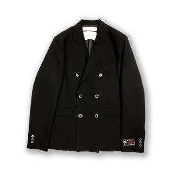 "<img class='new_mark_img1' src='https://img.shop-pro.jp/img/new/icons14.gif' style='border:none;display:inline;margin:0px;padding:0px;width:auto;' />DAIRIKU/ ""Jimi Hendrix"" Double Tailored Jacket"
