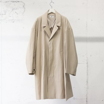 <img class='new_mark_img1' src='https://img.shop-pro.jp/img/new/icons14.gif' style='border:none;display:inline;margin:0px;padding:0px;width:auto;' />AUBETT / Cotton Silk Double Cloth Over Coat