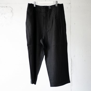 <img class='new_mark_img1' src='https://img.shop-pro.jp/img/new/icons14.gif' style='border:none;display:inline;margin:0px;padding:0px;width:auto;' />ANCELLM / LINEN WIDE PANTS