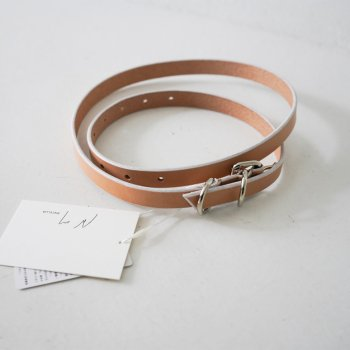 <img class='new_mark_img1' src='https://img.shop-pro.jp/img/new/icons14.gif' style='border:none;display:inline;margin:0px;padding:0px;width:auto;' />ANCELLM / NARROW LEATHER BELT