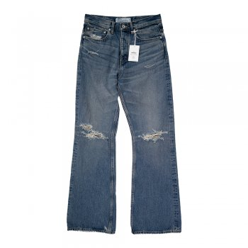 <img class='new_mark_img1' src='https://img.shop-pro.jp/img/new/icons14.gif' style='border:none;display:inline;margin:0px;padding:0px;width:auto;' />DAIRIKU/ Damage Flare Denim Pants