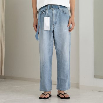 <img class='new_mark_img1' src='https://img.shop-pro.jp/img/new/icons14.gif' style='border:none;display:inline;margin:0px;padding:0px;width:auto;' />SEEALL / RECONSTRUCTED BUGGY DENIM
