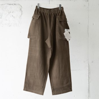<img class='new_mark_img1' src='https://img.shop-pro.jp/img/new/icons14.gif' style='border:none;display:inline;margin:0px;padding:0px;width:auto;' />scair / BRUSHED INLAY M-43 PANTS
