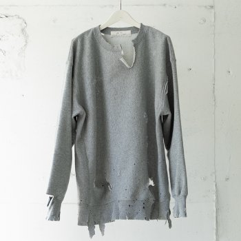 <img class='new_mark_img1' src='https://img.shop-pro.jp/img/new/icons14.gif' style='border:none;display:inline;margin:0px;padding:0px;width:auto;' />ANCELLM / -exclusive- CRASH SWEAT SHIRT