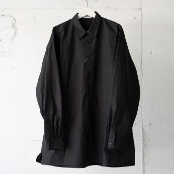 <img class='new_mark_img1' src='https://img.shop-pro.jp/img/new/icons14.gif' style='border:none;display:inline;margin:0px;padding:0px;width:auto;' />AUBETT / Double Cloth Typewriter Pullover Shirts