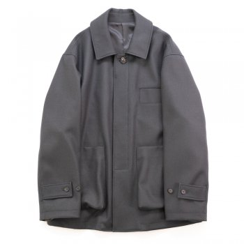 <img class='new_mark_img1' src='https://img.shop-pro.jp/img/new/icons14.gif' style='border:none;display:inline;margin:0px;padding:0px;width:auto;' />stein/  OVERSIZED MELTON LEAN JACKET
