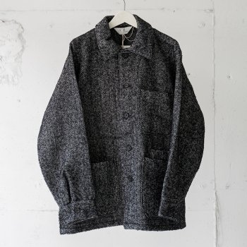 <img class='new_mark_img1' src='https://img.shop-pro.jp/img/new/icons14.gif' style='border:none;display:inline;margin:0px;padding:0px;width:auto;' />ANCELLM / WOOL HERRINGBONE COVERALL