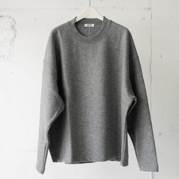 <img class='new_mark_img1' src='https://img.shop-pro.jp/img/new/icons14.gif' style='border:none;display:inline;margin:0px;padding:0px;width:auto;' />AUBETT / Super140's Pile Melton Pullover