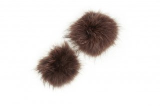 RACCOON FUR PARTS<br>BROWNの商品画像