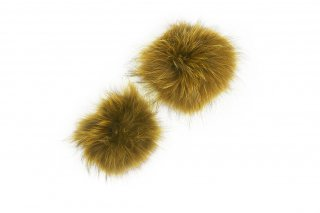 RACCOON FUR PARTS<br>YELLOWの商品画像