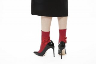 BIJOUX SOCKS<br>REDの商品画像