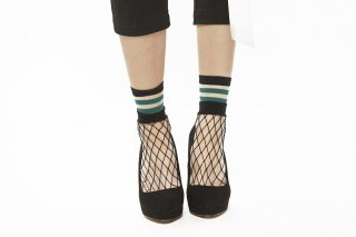 SEE-THROUGH LAYERED SOCKS<br>GREEN<img class='new_mark_img2' src='https://img.shop-pro.jp/img/new/icons20.gif' style='border:none;display:inline;margin:0px;padding:0px;width:auto;' />の商品画像