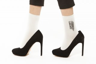 BIJOUX SOCKS<br>WHITEの商品画像