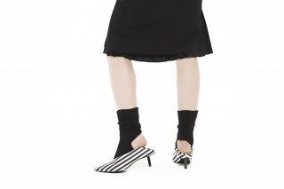 DEFORM MOHAIR SOCKS<br>BLACKの商品画像