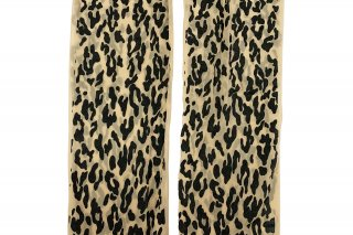 LEOPARD PRINTED STOCKING<br>BLACKの商品画像