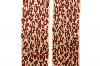<b><font color='red'>NEW</font></b><br>LEOPARD PRINTED STOCKING<br>REDの商品画像