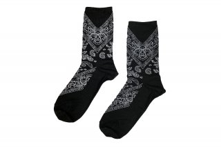 <b><font color='red'>NEW</font></b><br>PAISLEY SC<br>BLACKの商品画像