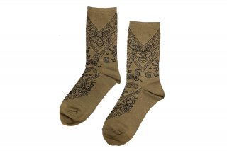 <b><font color='red'>NEW</font></b><br>PAISLEY SC<br>BROWNの商品画像