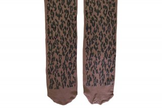 LEOPARD TIGHTS<br>BROWNの商品画像