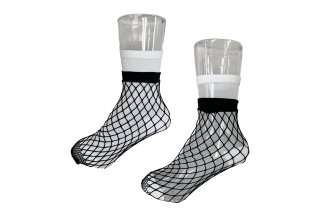 <b><font color='red'>NEW</font></b><br>LIMI feu×FAKUI SEE-THROUGH LAYERED SOCKS<br>WHITEの商品画像