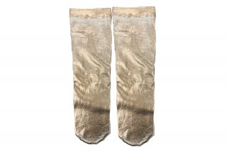 <b><font color='red'>NEW</font></b><br>FOIL SHINY SOCKS<br>PINKGOLDの商品画像