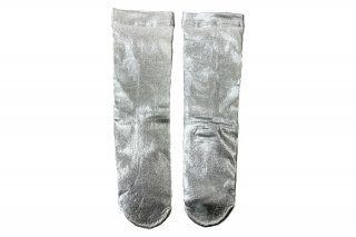 <b><font color='red'>NEW</font></b><br>FOIL SHINY SOCKS<br>SILVERの商品画像
