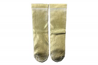 <b><font color='red'>NEW</font></b><br>FOIL SHINY SOCKS<br>GOLDの商品画像