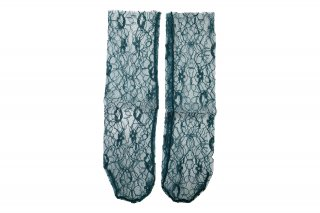 <b><font color='red'>RESTOCK</font></b><br>LACE SHEER SOCKS<br>GREENの商品画像