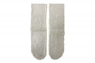 <b><font color='red'>RESTOCK</font></b><br>LACE SHEER SOCKS<br>BEIGEの商品画像