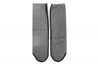 <b><font color='red'>NEW</font></b><br>STRIPED TULLE SOCKS<br>BLACKの商品画像