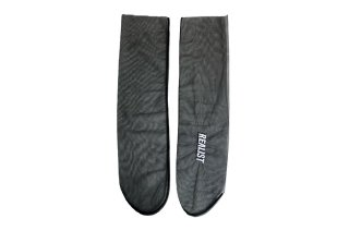<b><font color='red'>NEW</font></b><br>EMBROIDERY TULLE SOCKS<br>BLACKの商品画像
