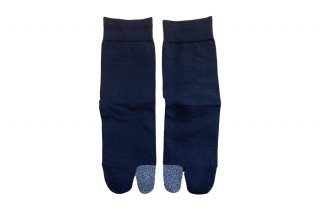 <b><font color='red'>NEW</font></b><br>COLOR BLOCK TABI SOCKS<br>SILVERの商品画像