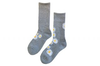 <img class='new_mark_img1' src='https://img.shop-pro.jp/img/new/icons5.gif' style='border:none;display:inline;margin:0px;padding:0px;width:auto;' />DAISY SPORTS SOCKS<br>GRAYの商品画像