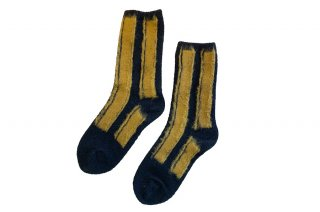<img class='new_mark_img1' src='https://img.shop-pro.jp/img/new/icons5.gif' style='border:none;display:inline;margin:0px;padding:0px;width:auto;' />WOOL STRIPED SOCKS<br>CAMELの商品画像