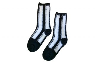 <img class='new_mark_img1' src='https://img.shop-pro.jp/img/new/icons5.gif' style='border:none;display:inline;margin:0px;padding:0px;width:auto;' />WOOL STRIPED SOCKS<br>WHITEの商品画像