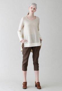linen wool pants