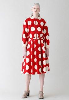 clear dot skirt