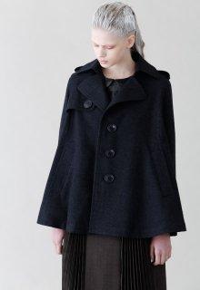 British wool short coat