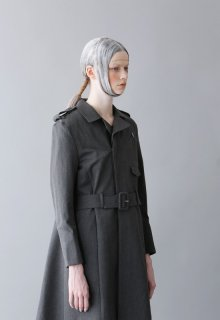 kyonen c/w gabardine coat