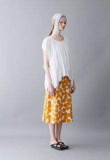 air dot cotton skirt