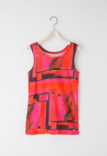 pink Mary jersey tank top