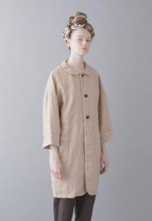 linen duck coat