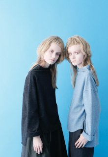 carded wool jersey pullover