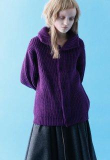 karmarib knit cardigan