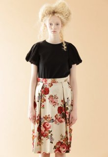 victoria print skirt